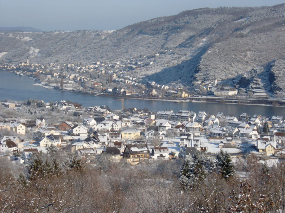 Winter im Rheintal
