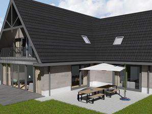 Ferienwohnung 14-Personen-Villa Duyncoogh mit Jacuzzi und Sauna