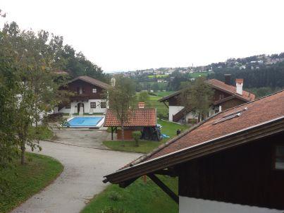 Panorama mit Hallenbad