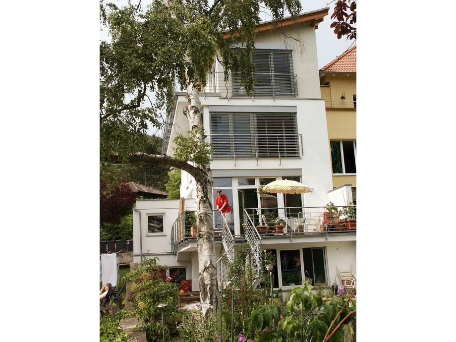 Außenaufnahme Penthouse-Suite am Kapellenberg