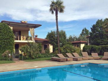 Ferienhaus Polpenazze Gardasee Villino Monica mit Pool