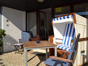 1-Zi-Apartment mit Südterrasse in bester Strandlage
