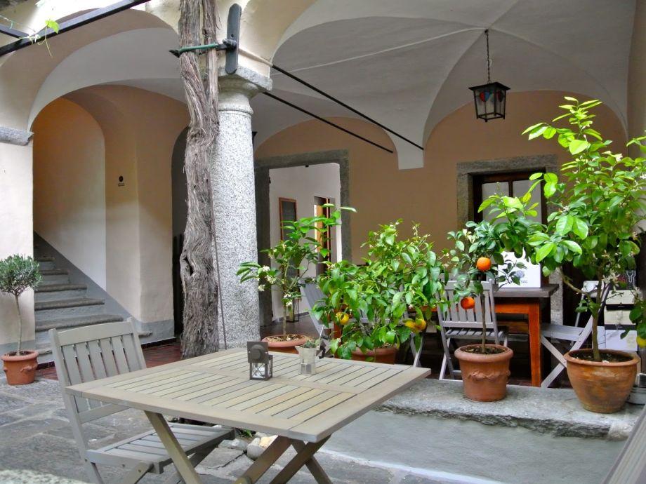 wunderschöner, ruhiger Innenhof zur Mitbenützung