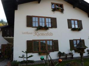 Ferienwohnung Landhaus-Riemerfeld