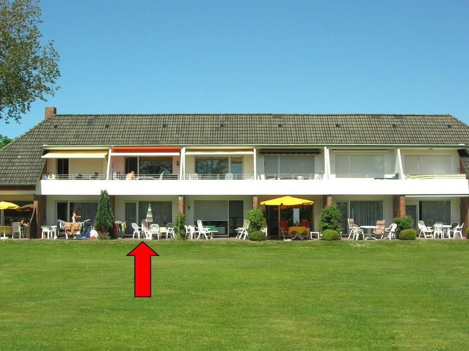 Haus Kiebitzwiese von hinten