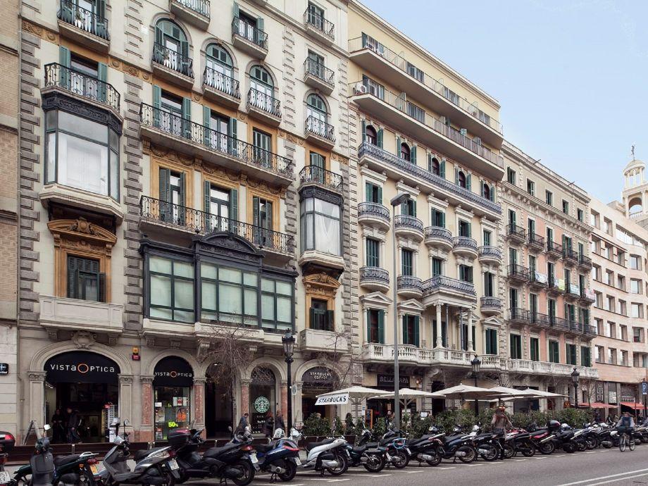 Außenaufnahme Catalunya Palace Apartment