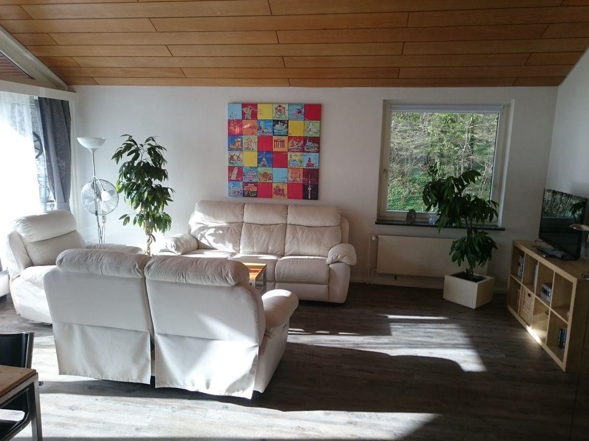 Ferienhaus haus sandlid bosau am pl ner see ost holstein frau claudia reimers - Sitzgruppe wohnzimmer ...