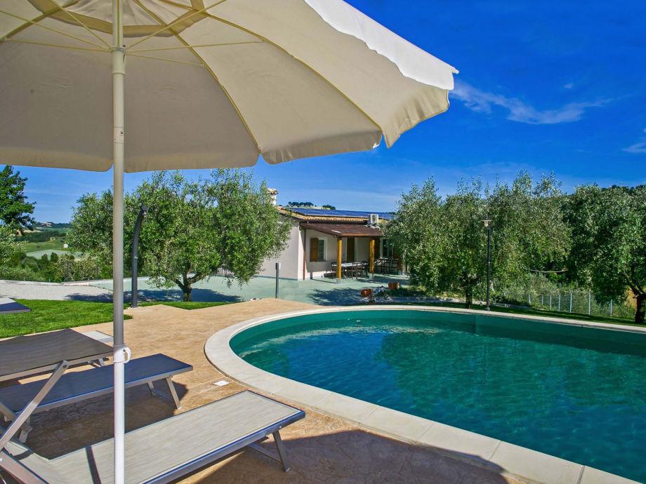 Schwimmbad geöffnet von Mai bis September
