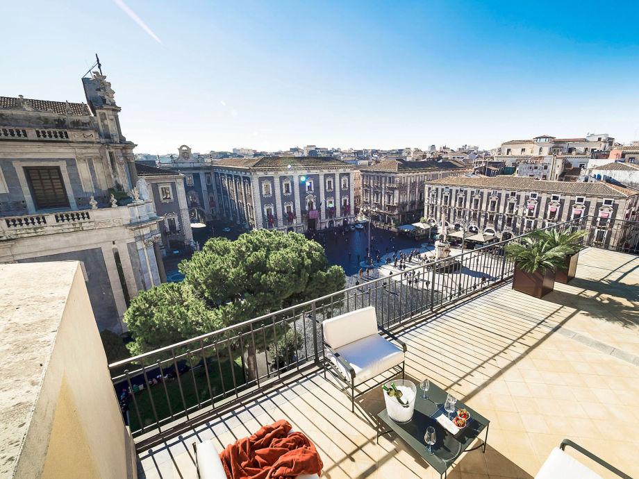 Außenaufnahme Penthouse Duomo