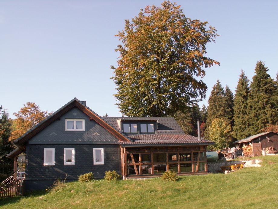 Außenaufnahme Altes Häuschen