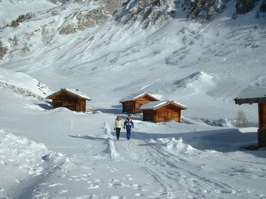 Village Vals in winter time