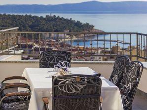 Ferienwohnung Penthousewohnung Sunset Makarska mit Meerblick