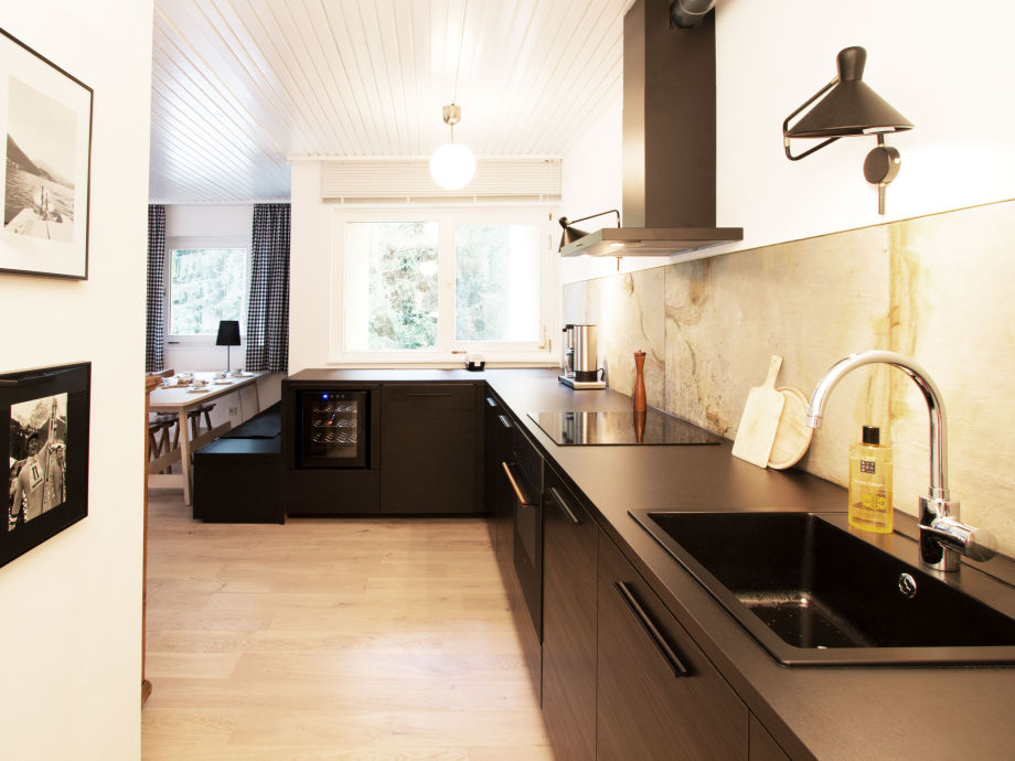 neue schwarze Küche