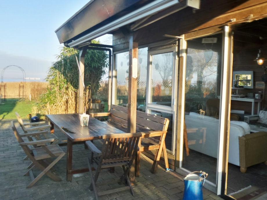 Terrasse Richtung Lauwersmeer