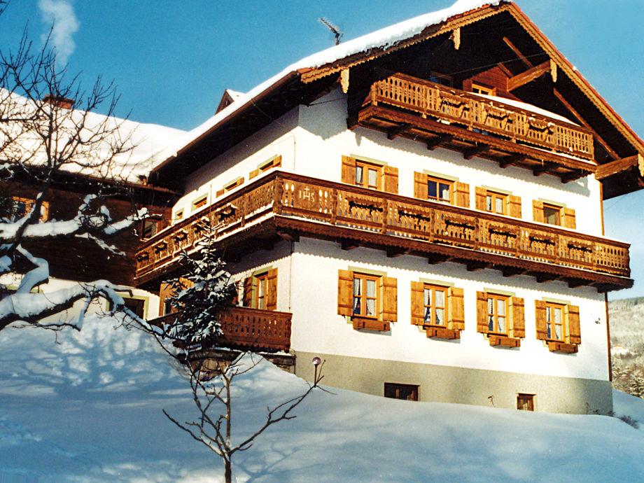 Unser Landhaus im Winter