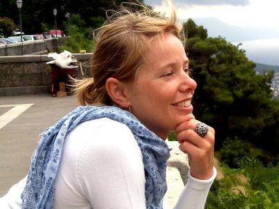Your host Simone Kainz