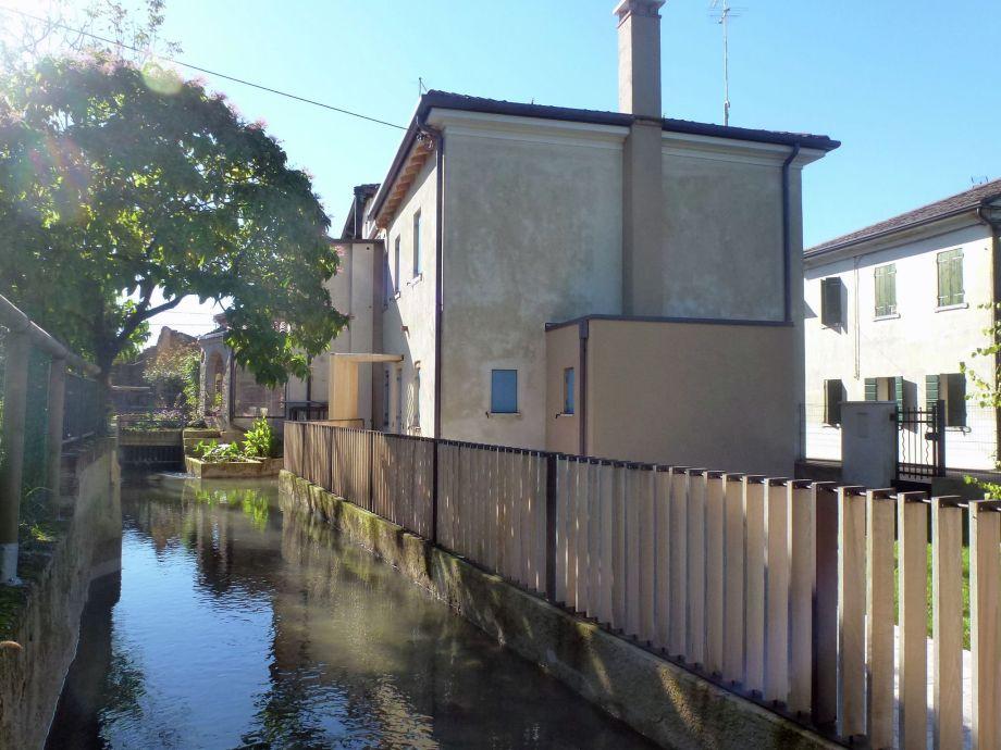 Außenaufnahme Casa sul Piave