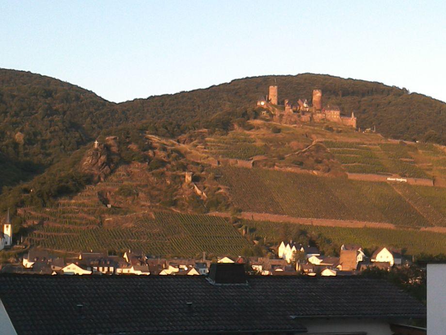 Burg Ansicht vom Balkon