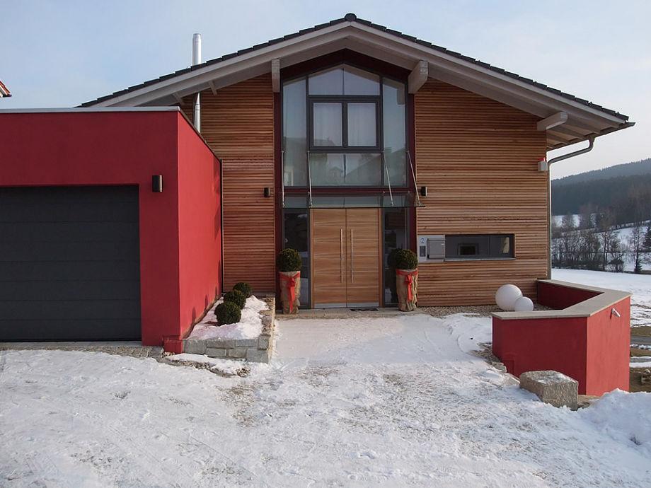 Eingangsbereich Lodge-Feldäcker
