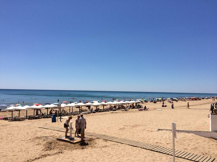 Sand beach of Guardamar del Segura