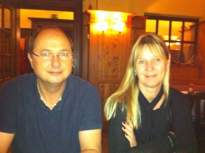 Ihr Gastgeber Claudia und Heinz Deffner