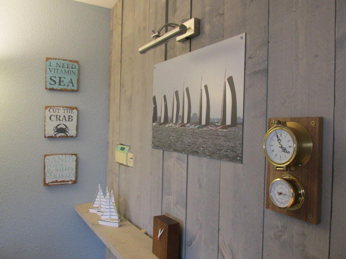 Ferienhaus maritim am fahrwasser ijsselmeer lemmer for Maritime einrichtung