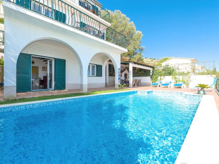 big Pool with sea views