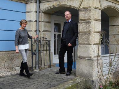 Ihr Gastgeber Simone und Burkhard Schulz