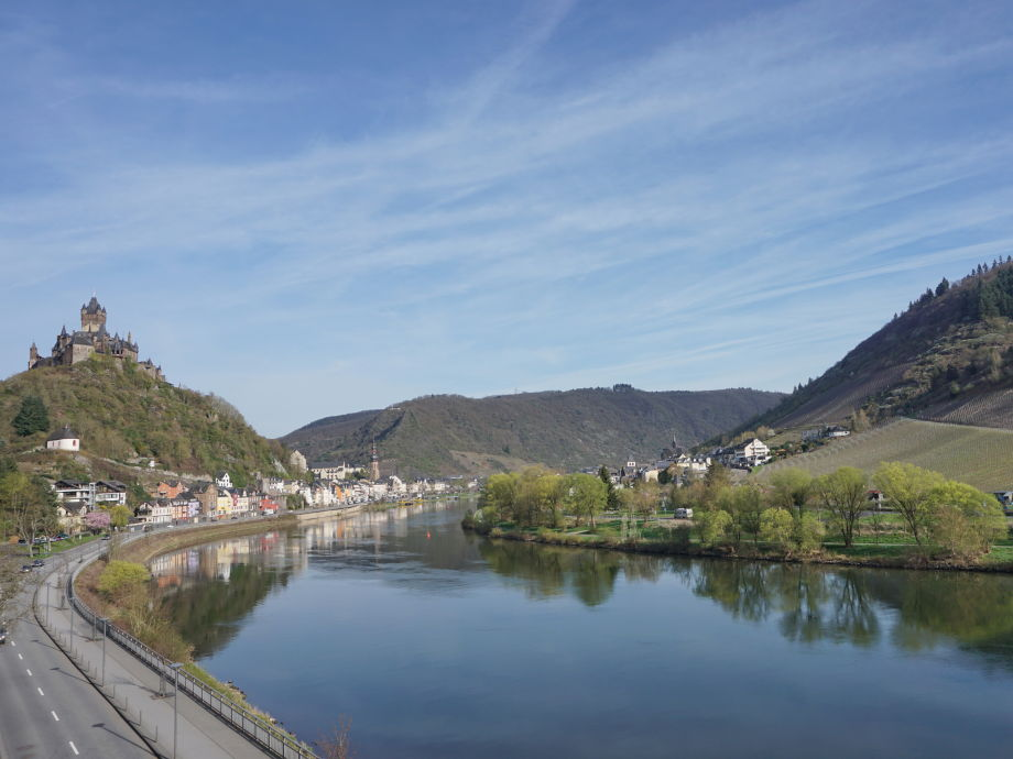 Blick Richtung Reichsburg und City