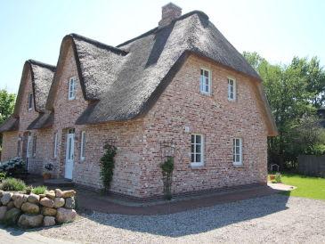 Ferienhaus Reetdachhaus Wattenmeer