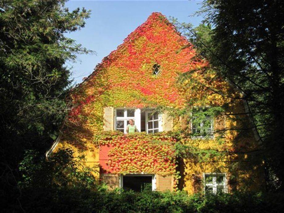 Unser Haus im Herbst