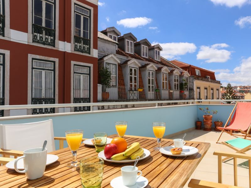 Holiday apartment Ap2 - Principe Real Terrace Inn