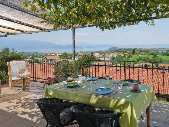Ferienwohnung Terrazze sul Garda, Gardasee, Salò - Firma Garda FeWo ...