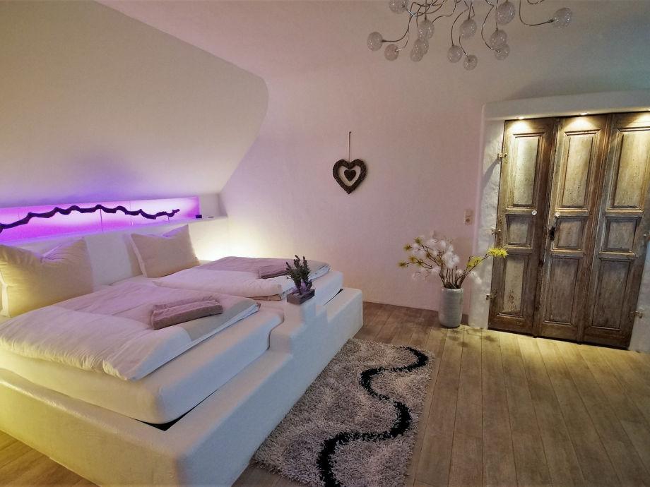 Suite Santorin Schlafzimmer