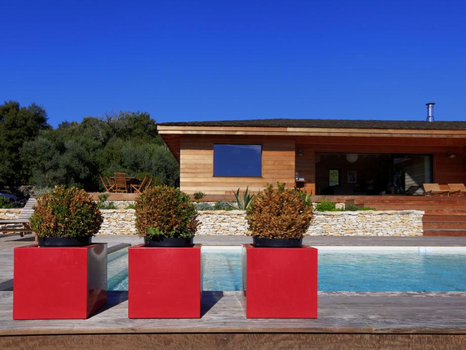 Das Ferienhaus aus Zedernholz