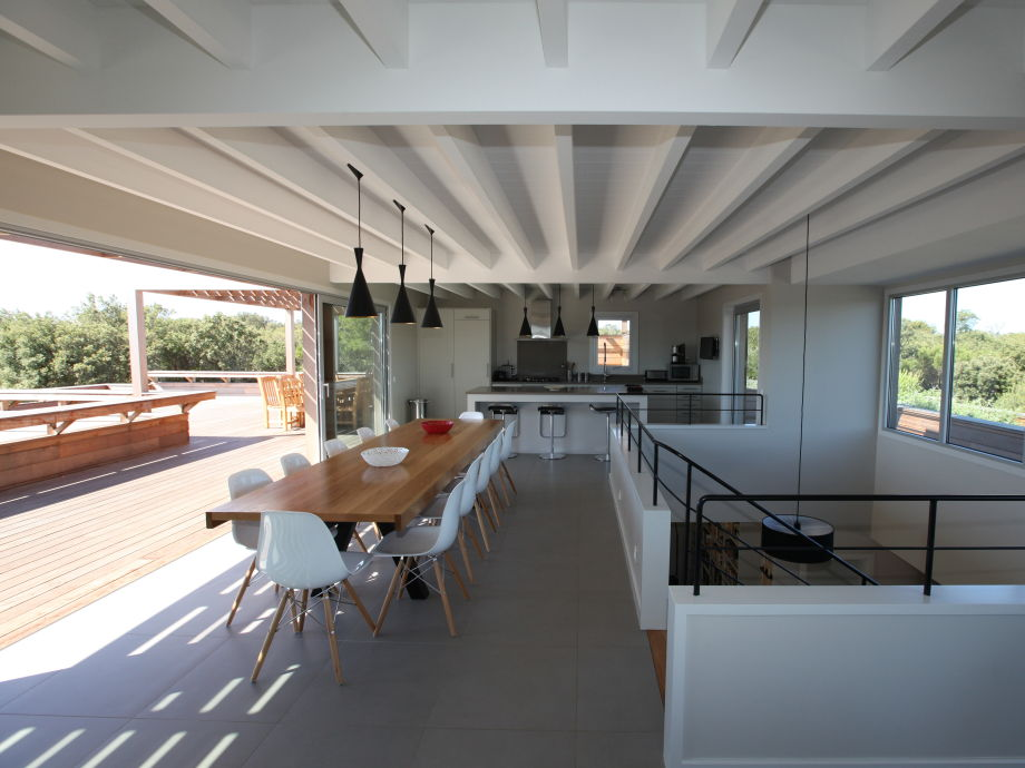 The open kitchen at the 1st floor