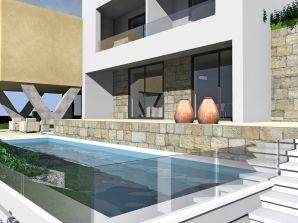 Villa Olive Grove, 120 m vom Sandstrand, 10 Pers