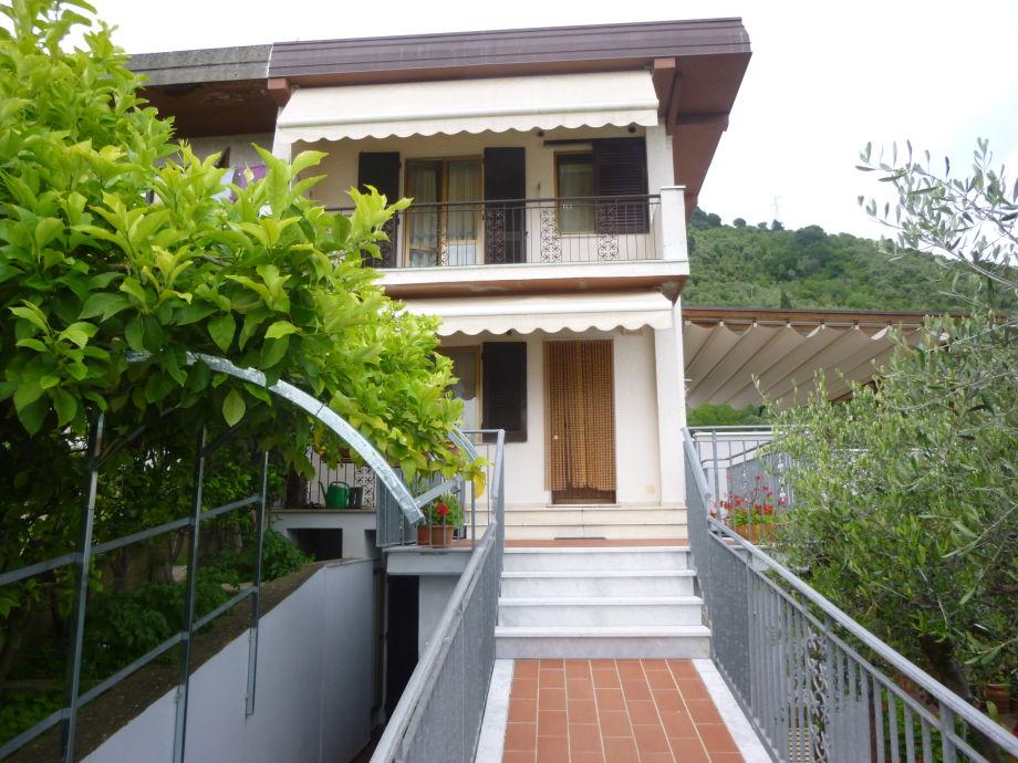 die Ferienhaus-Fassade