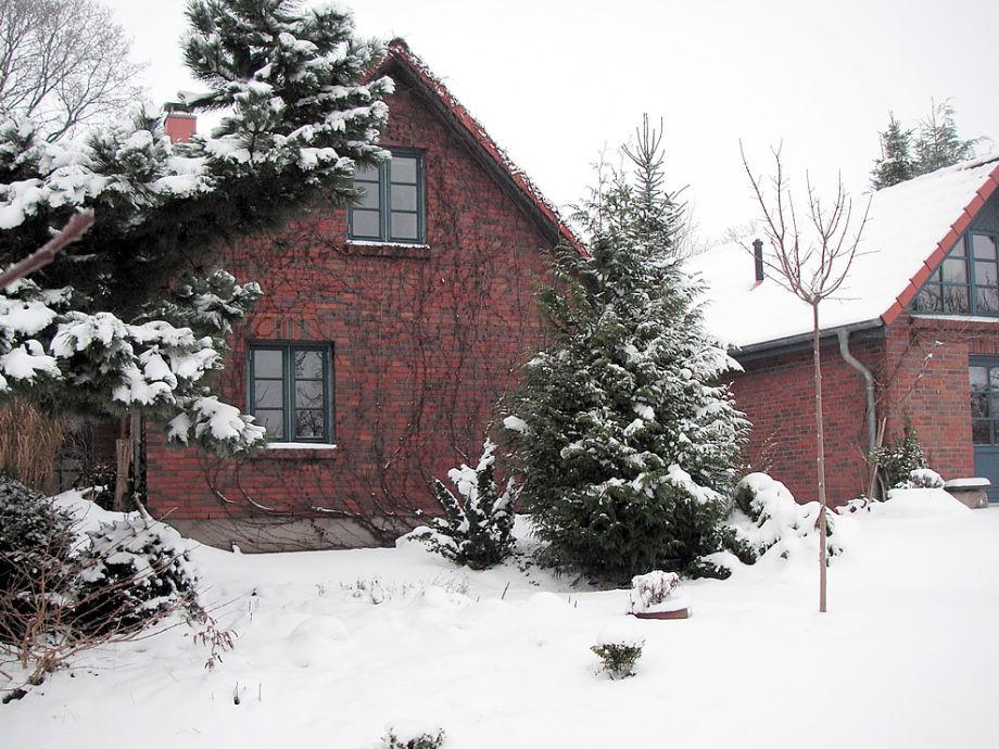 Auch im Winter ein Genuss: Das Green Garden Cottage