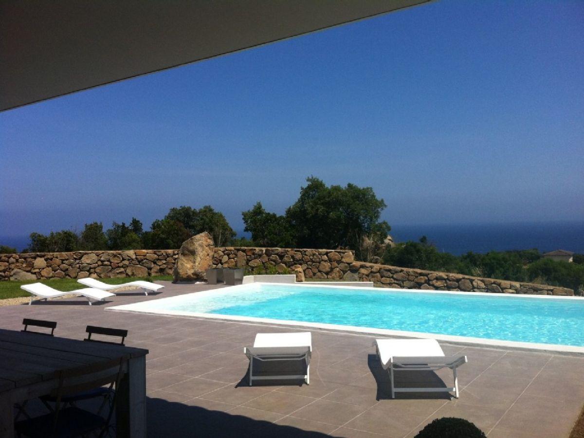 Villa La Mer Korsika, Korsika, Solaro - Firma GoVilla Moderne ...