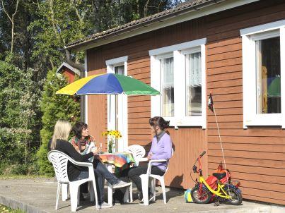 Typ A   Ferienhausanlage Stausee Oberwald