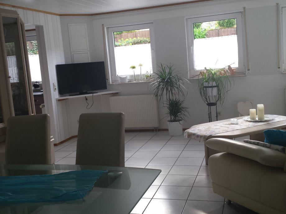Blick Von Der Essecke Ins Wohnzimmer