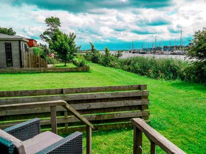 Seeblick am Lauwersmeer