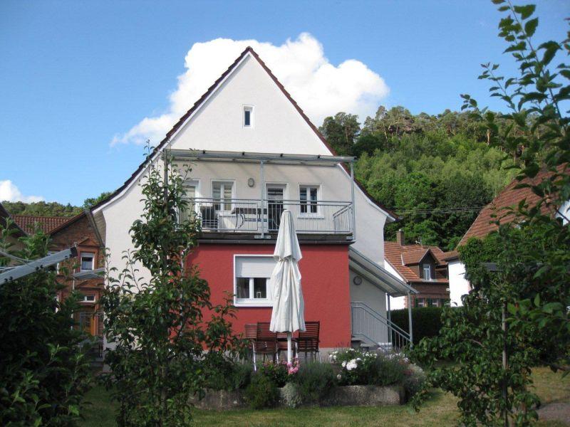 Ferienwohnung Haus am Schillerfelsen