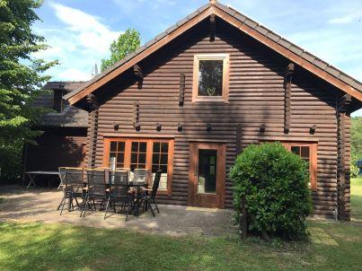 blockhouse at lake Silbersee