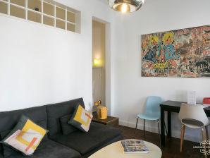 Authentische Garden Apartment