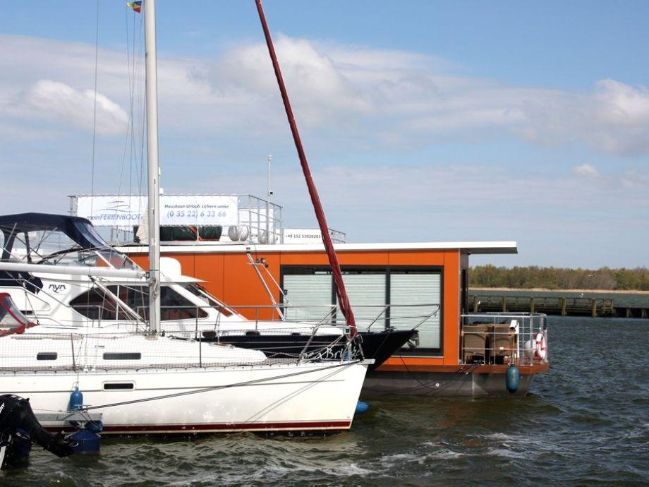 meinFERIENBOOT 2- Floating 30 Blick von Marina