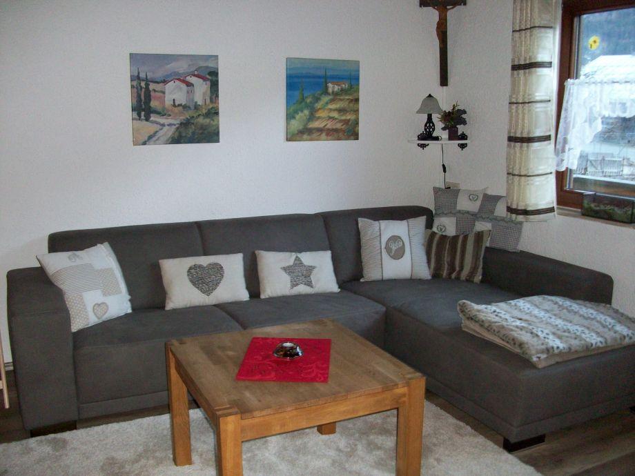 Ferienhaus scheidle tiroler lechtal familie anton und - Couchgarnitur wohnzimmer ...