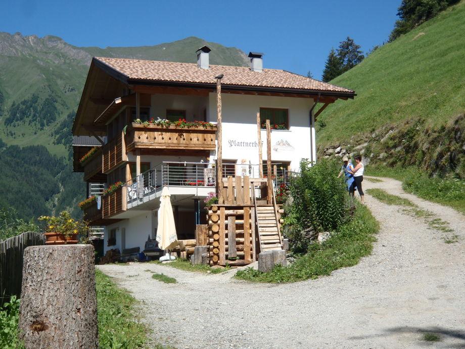 Plattnerhof in den Pfunderer Bergen