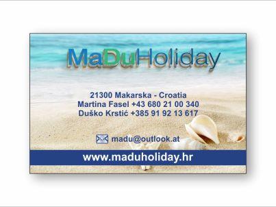 Your host MaDuHoliday d.o.o.